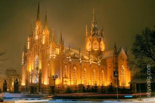 Католический храм Непорочного Зачатия Пресвятой Девы Марии - Москва