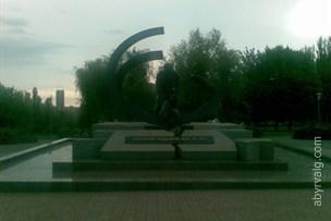 Памятник ликвидаторам аварии на ЧАЭС - Кривой Рог
